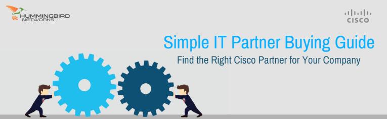Simplify IT with Cisco